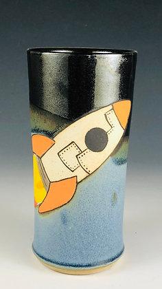 Orange Rocket Tumbler