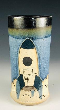 Navy Blue Rocket Tumbler
