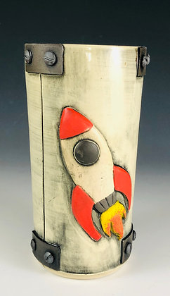 RocketFuel Red Tumbler