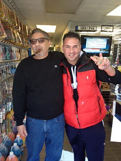 "Mike ""The Situation"" with Steve Papadam"