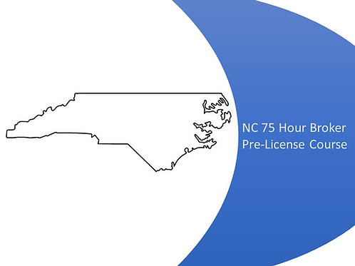 NC Broker Pre License Course (Live Online)
