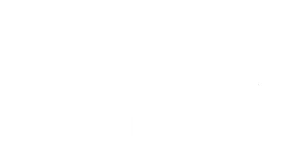 Campus activities logo - white - 2020 -