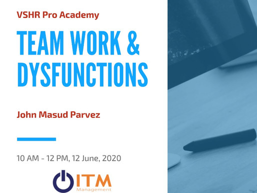 June Workshop - 5 signs of a dysfunctional team and how to fix it
