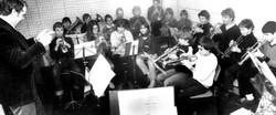 1980: Probe auf engstem Raum