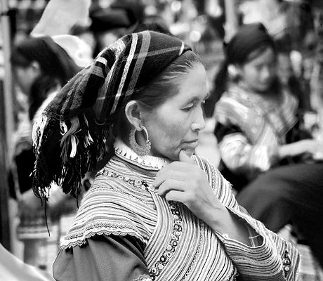 Hmong Vietnam Woman