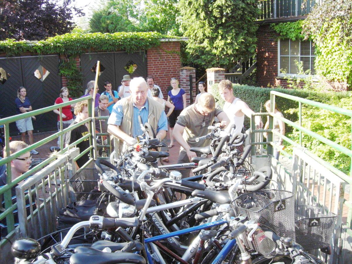 2009: Radtour ist nur einmal im Jahr