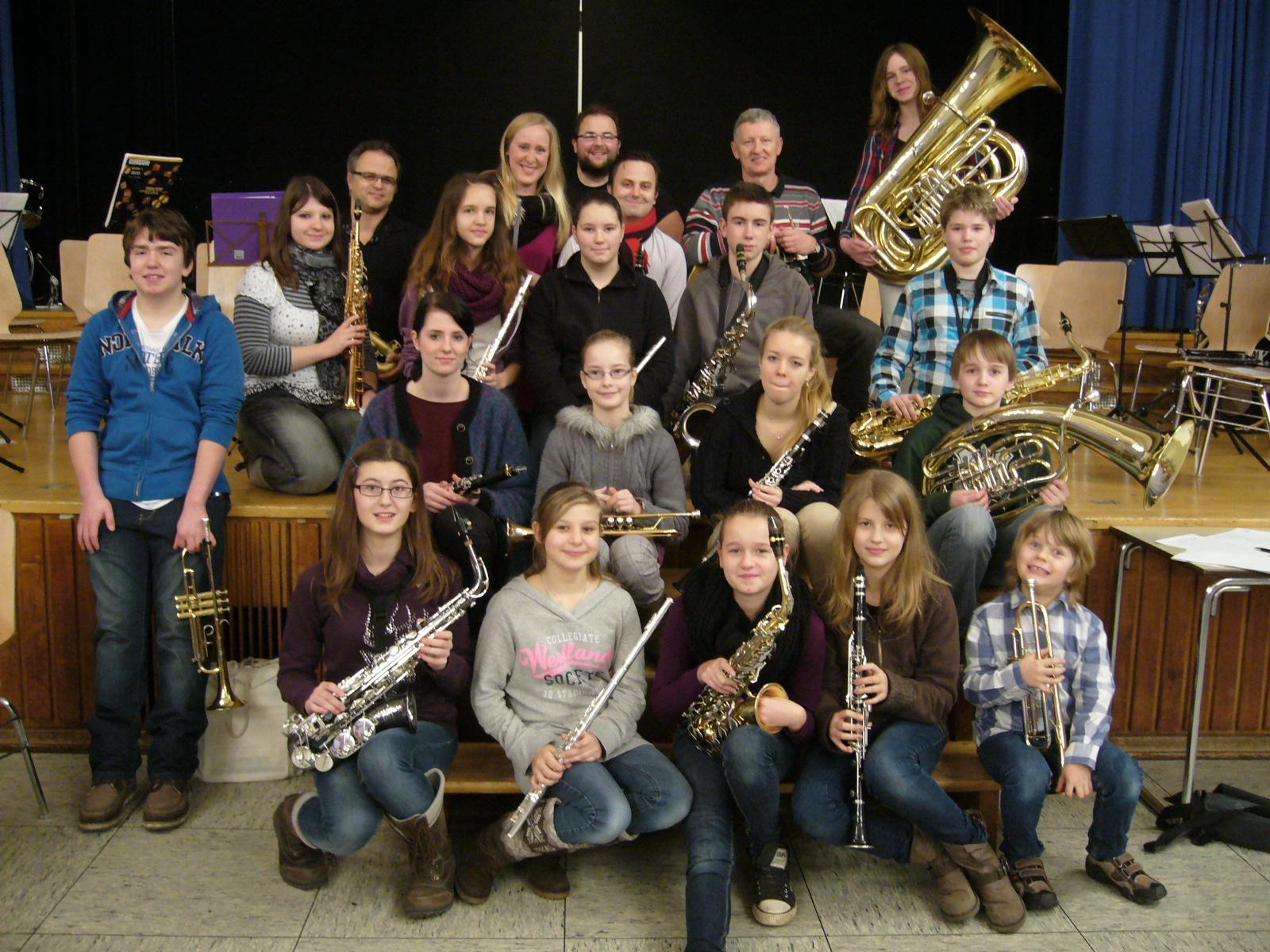 2012: Nachwuchsorchester startet