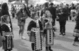 Hmong girls at the Hmong New Year