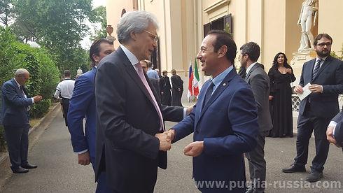 Ambasciatore Razov e avv. Giuliano