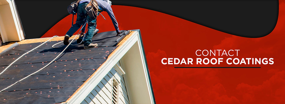 Contact cedar roof coatings
