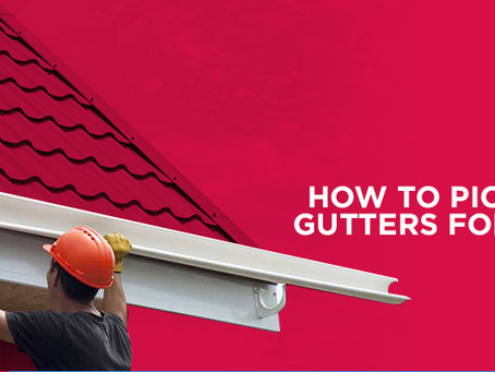 How to Pick the Right Gutters for Your Cedar Roof
