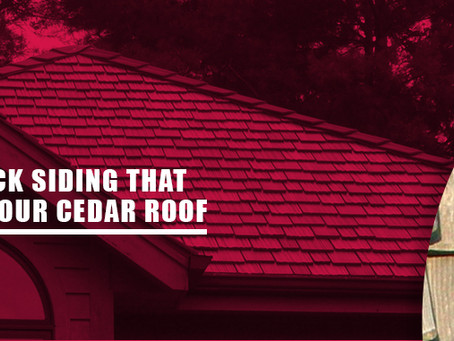 How to Pick Siding That Matches Your Cedar Roof