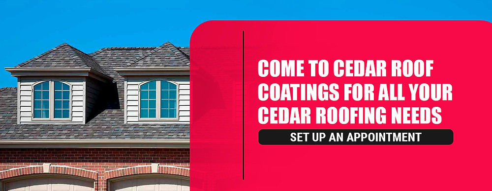 Contact Cedar Roof Coatings for all your cedar roofing needs
