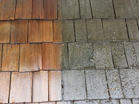 Cedar Roof Restoration Process