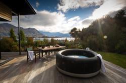 Wanaka Hot Pools with views
