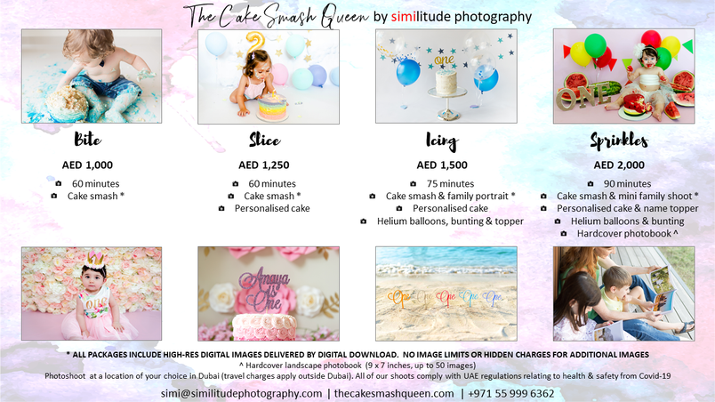 Cake Smash Packages
