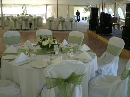 How to plan a Romantic Wedding at the VFW Hall...