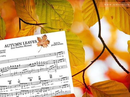 Autumn Leaves, istorija pesme + note za klavir