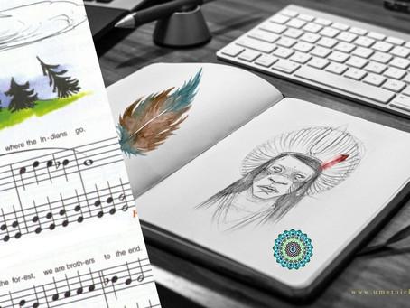 Mudrost indijanskog naroda + Indian song - note za klavir