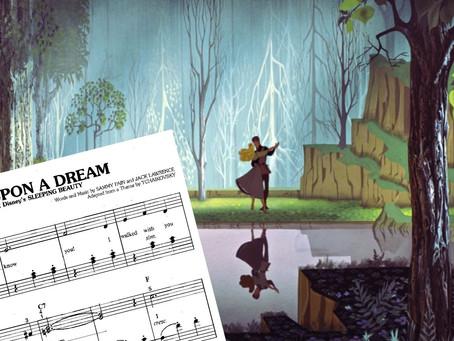 Bajka: Uspavana lepotica + note za klavir