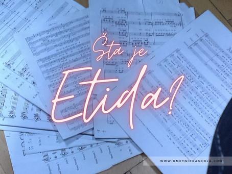 Šta je Etida?