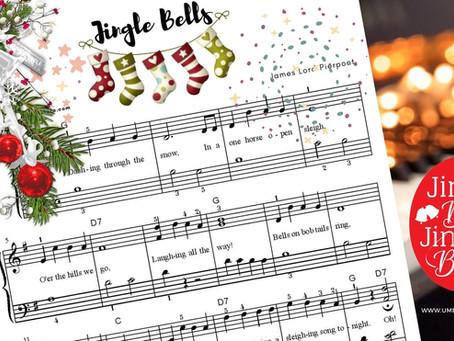 """Božićna pesma """"Zvončići"""", istorija pesme + note za klavir"""