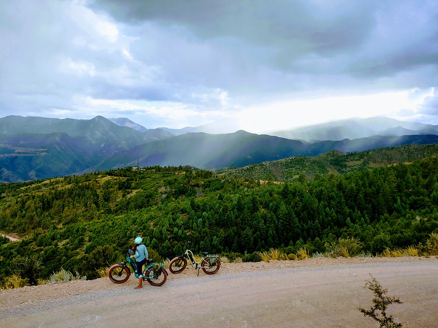 Rocke Mountain Bike- Electric Bicycling Colorado Springs, Pikes Peak, Garden of the Gods