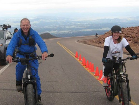 The First Pikes Peak E-Bike Exhibition Ride 8-10-2019