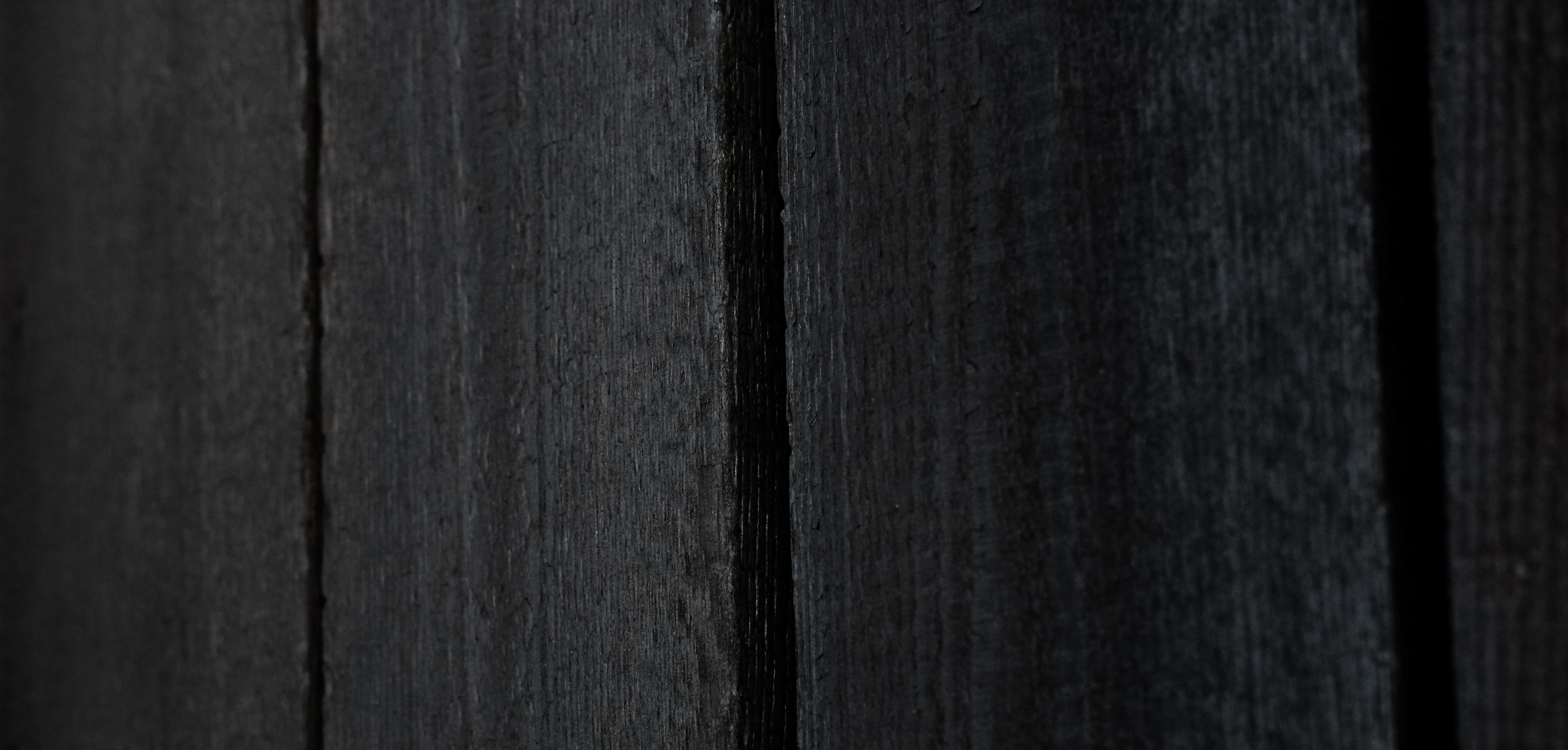 rauchholz verkohltes holz schwarze fassaden
