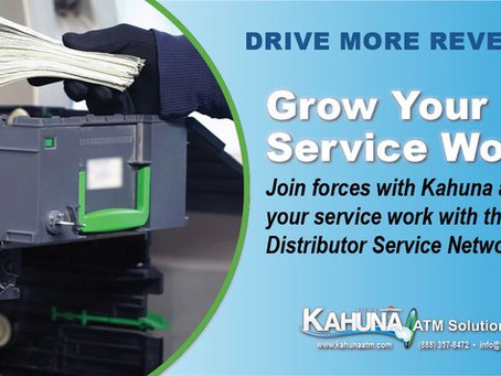 Kahuna Helps ATM Businesses & Start-Ups