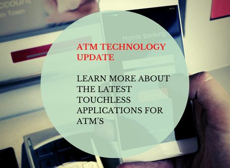 The Latest Touchless Applications For ATM's