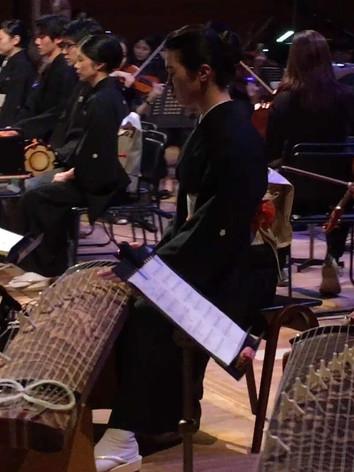 ゲームサウンドオーケストラ和楽器部隊として出演