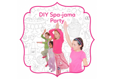 DIY SPA-JAMA BIRTHDAY PARTY
