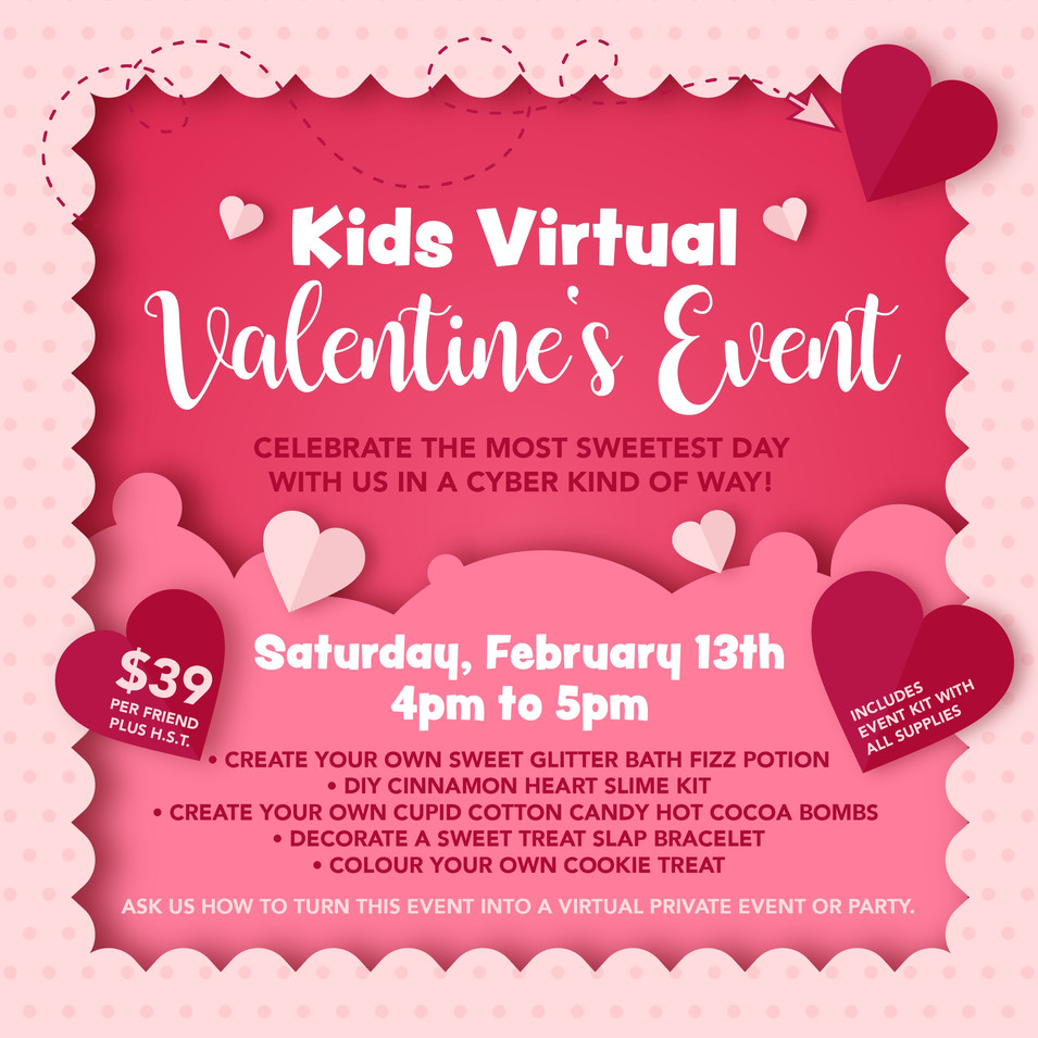 Kids Virtual Valentine's Event