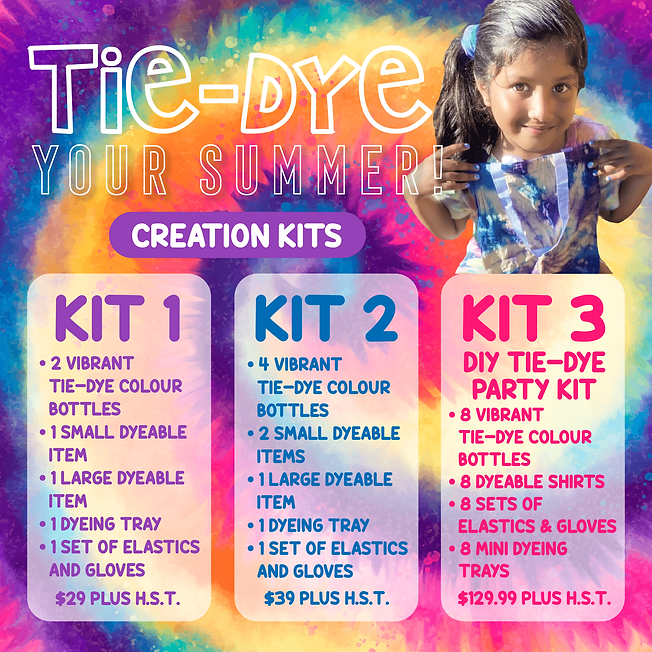 GG Tie-Dye Your Summer - Creation Kits-0