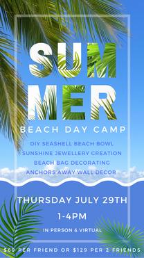 SUMMER BEACH DAY CAMP