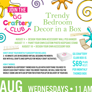 August GG Craftery Club