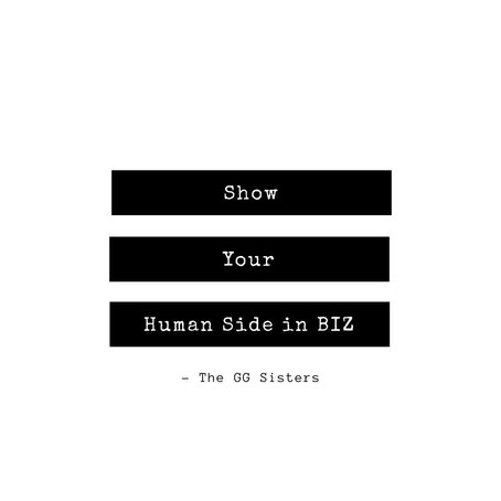 Show the human side to your biz!