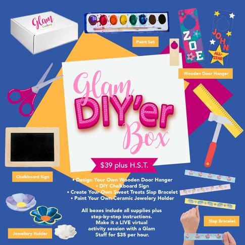 GLAM DIY'ER BOX