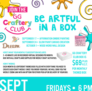 September GG Craftery Club