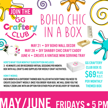 May/June GG Craftery Club