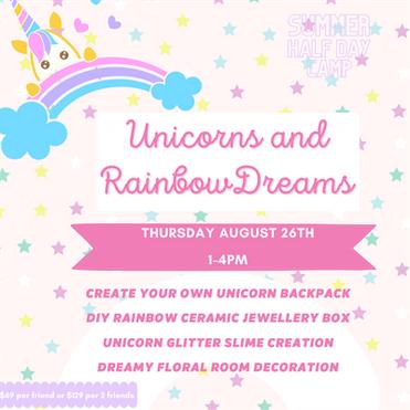UNICORNS & RAINBOW DREAMS