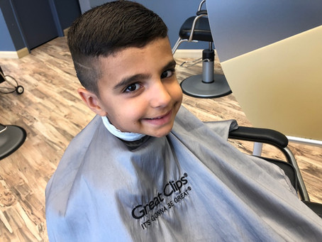 Easy Peasy Back to School Hair Cuts for the Kids
