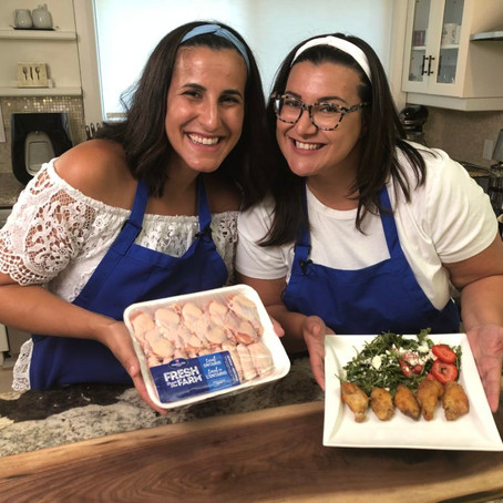The GG Sisters Fresh From The Farm ® Honey Garlic Air Fried Chicken Wings + Surprise Side