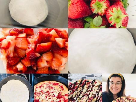 Strawberry Surprise Focaccia Recipe