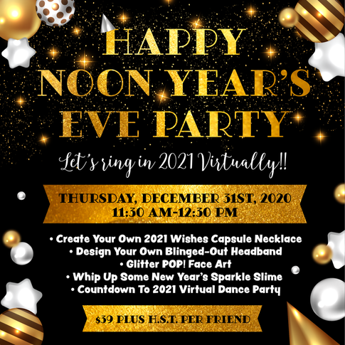 Happy Noon Years Eve Party