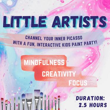 LITTLE ARTISTS PAINT PARTY