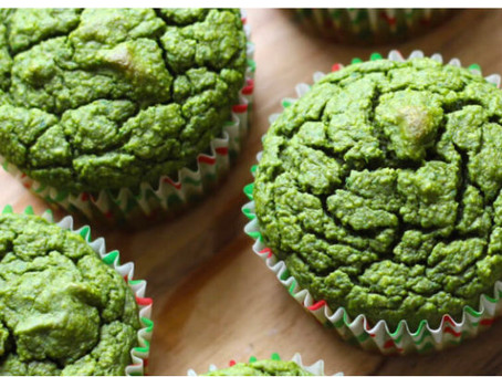 Green Smoothie Muffin Recipe