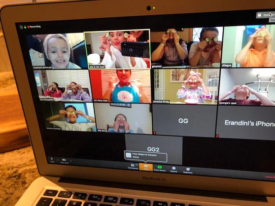 Ella's Virtual Spa Party