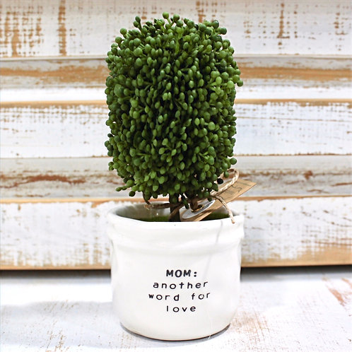 Love Boxwood Topiary